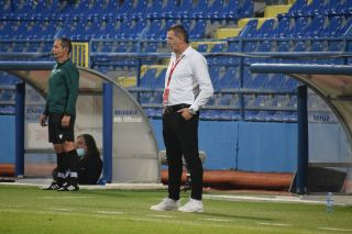 Lokomotiv Plovdiv manager Bruno Akrapovic is leading the Bulgarian club into the match against Spurs