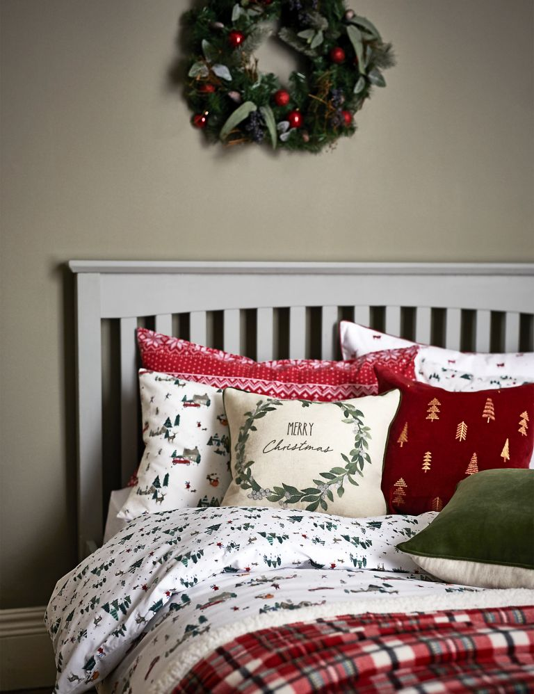 This M&S bedding is on sale (and no, it's not too early to buy Christmas bedding!)