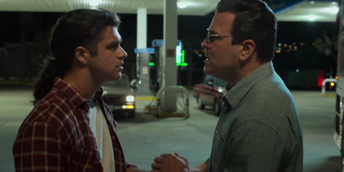 Jesse Posey and Ricardo Chavira in Selena: The Series