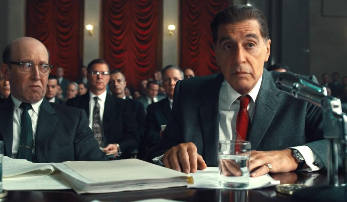The Irishman Al Pacino testifies in court
