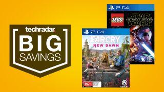Big savings on PS4 games