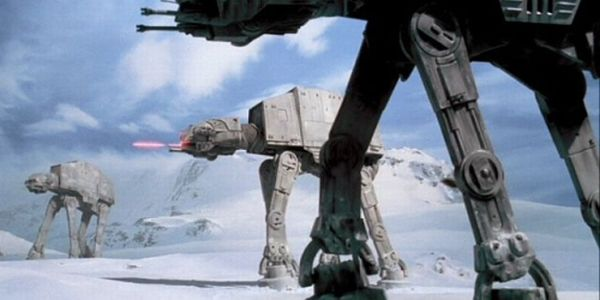AT-AT Empire Strikes Back
