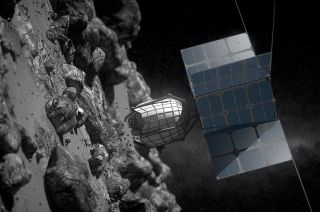 Spacecraft Collects Asteroid Sample