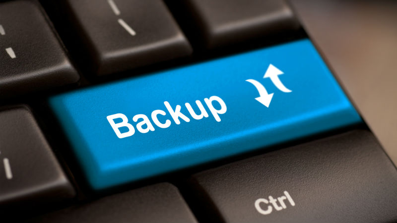 It's never too late for data backup (until it's too late
