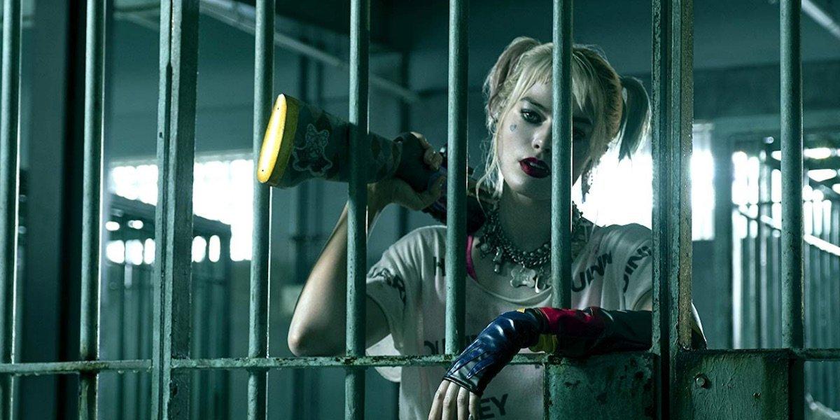 Harley Quinn invading GCPD