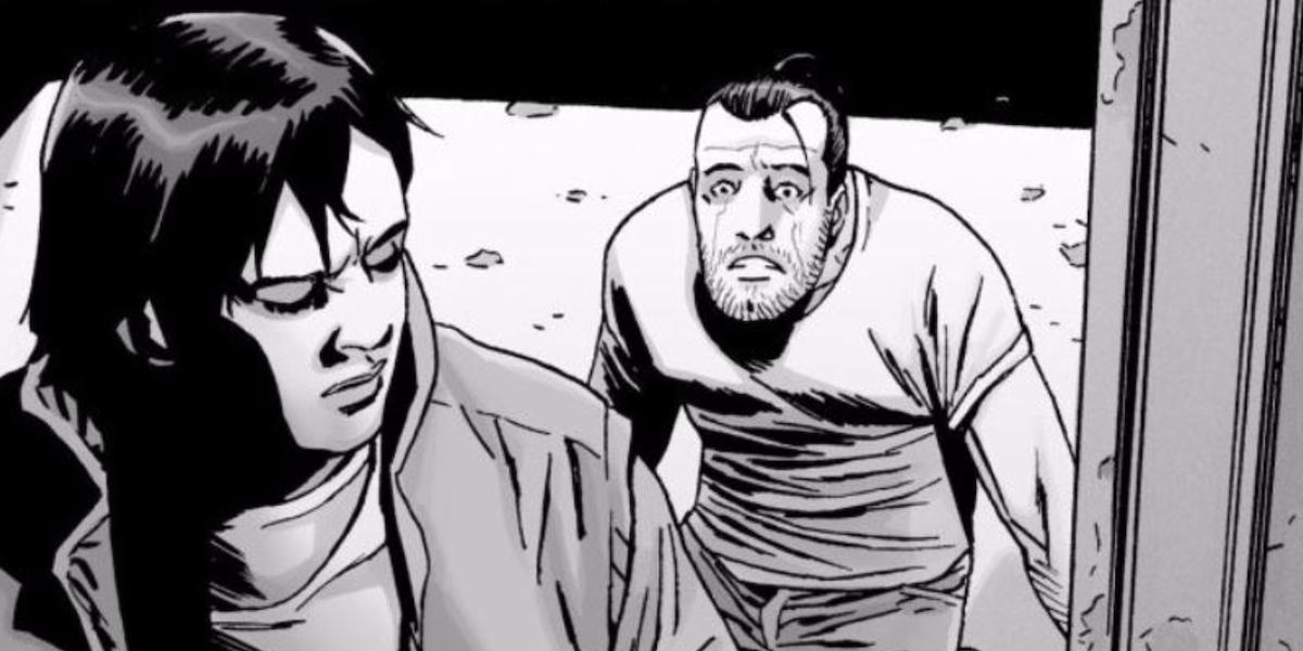 the walking dead comic 192 carl cover