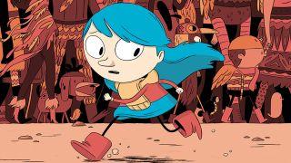 Character design: Hilda by Luke Pearson