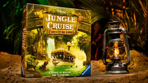 Disney Jungle Cruise board game