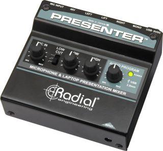 Radial Shipping Presenter Compact Mixer