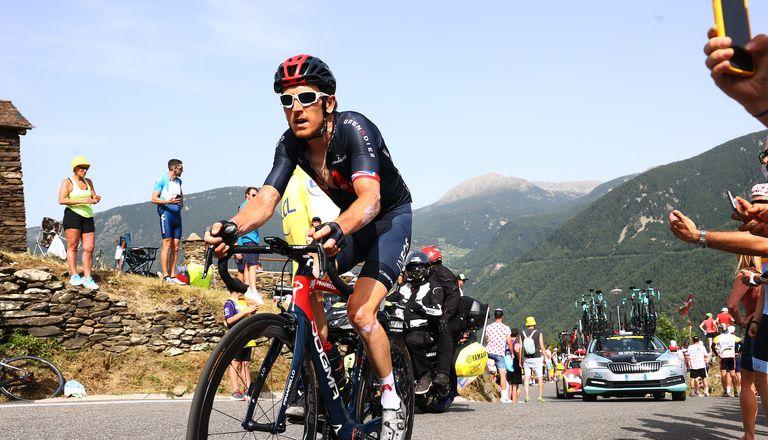 Geraint Thomas at the Tour de France 2021