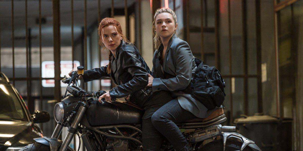 Black Widow Scarlett Johasson and Florence Pugh