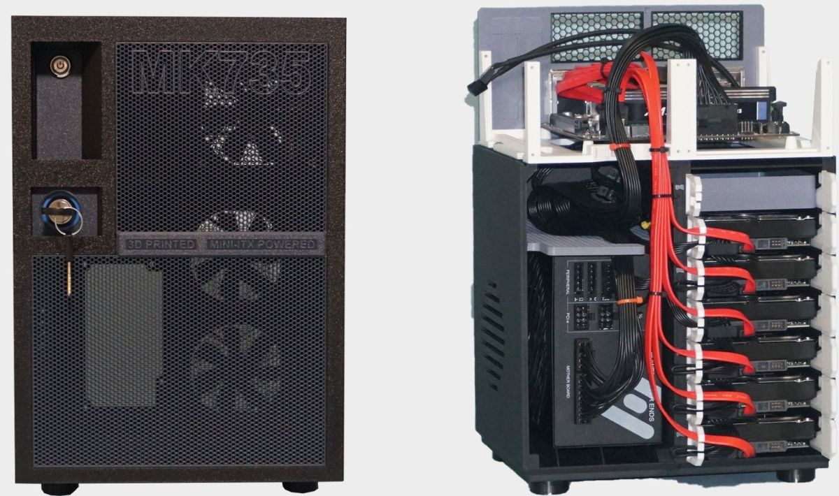 Looking for a project to pass the time? Try 3D printing a NAS box