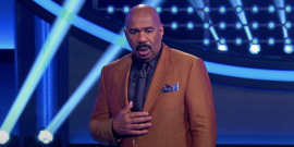 Family Feud's Steve Harvey Hilariously Apologizes For Dropping F-Bomb On Camera