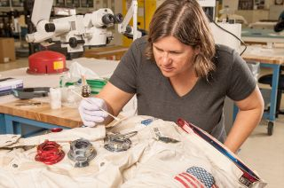 Neil Armstrong's Apollo 11 Spacesuit Conservation