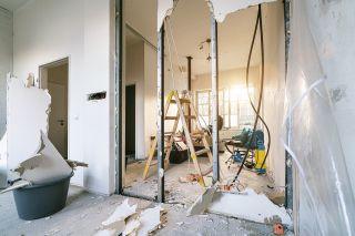 knocking down internal walls