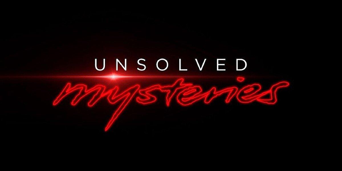 Unsolved Mysteries Netflix logo