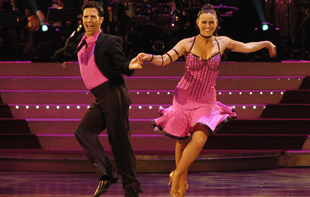Strictly Come Dancing winners - Jill Halfpenny dancing at Blackpool on her way to winning the Strictly final