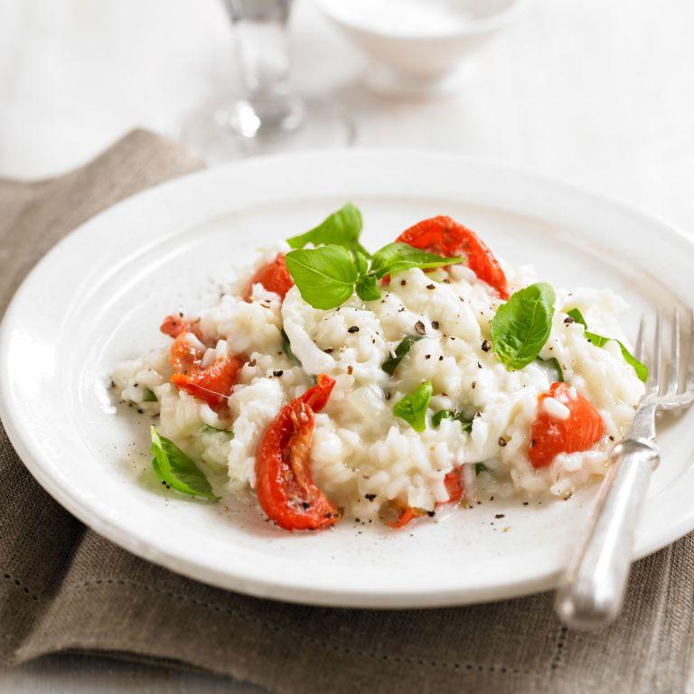 Mozzarella & tomato risotto with basil recipe-recipe ideas-new recipes-woman and home