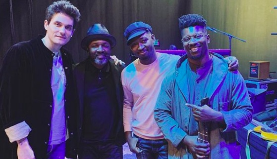 Watch John Mayer Play Fingerstyle Blues on a Tosin Abasi 8-String Guitar