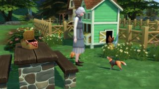 How to buy animal clothes in Sims 4 Cottage Living