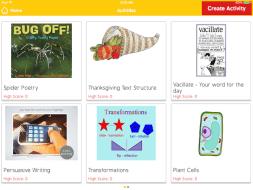 Class Tech Tips: Teacher-Authored iPad Activities for Frolyc