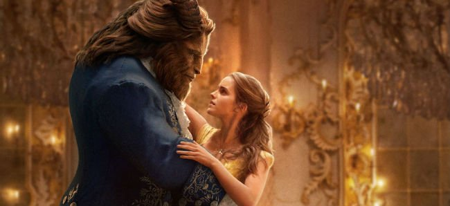 Beauty and the Beast Emma Watson and Dan Stevens dance