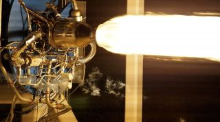 NewtonOne Rocket Motor Test Fire