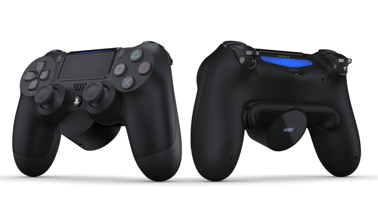 DualShock 4 with Back Button Attachment