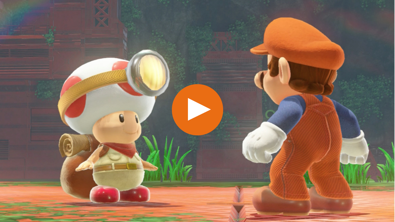where to find captain toad in super mario odyssey gamesradar