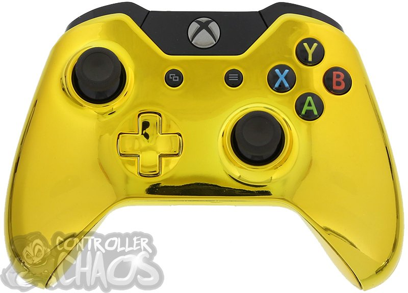 Golden-Chrome Xbox One, PlayStation Controllers Become Best Sellers #30895