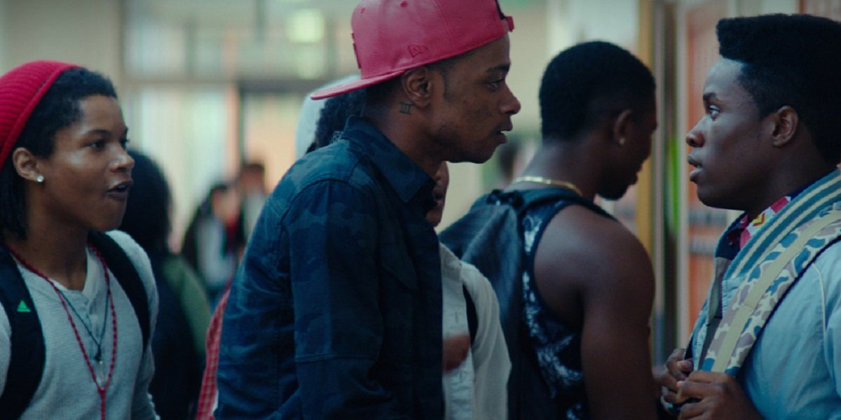 Shameik Moore and Lakeith Stanfield in Dope