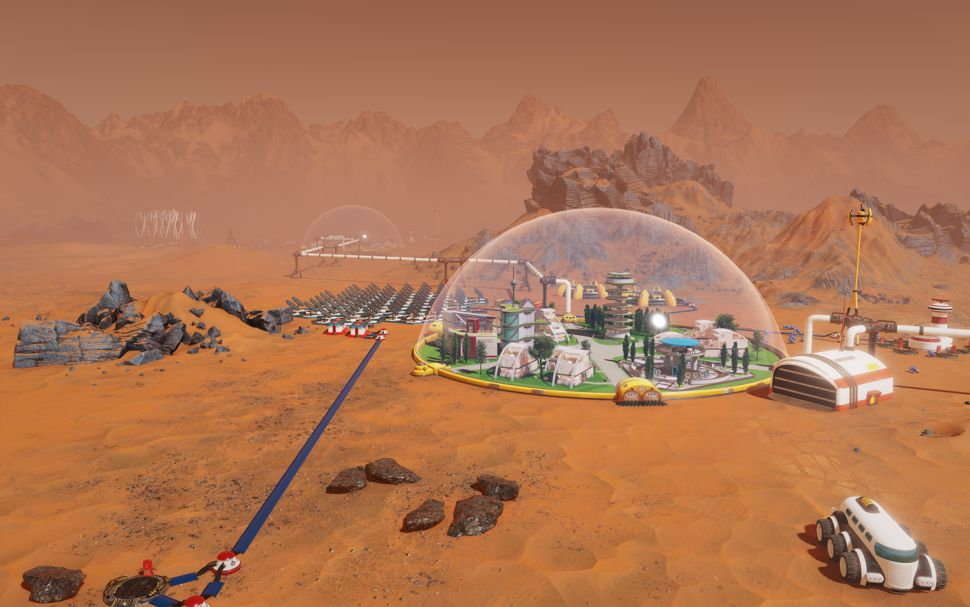 Surviving Mars' is free on the Epic Games store right now