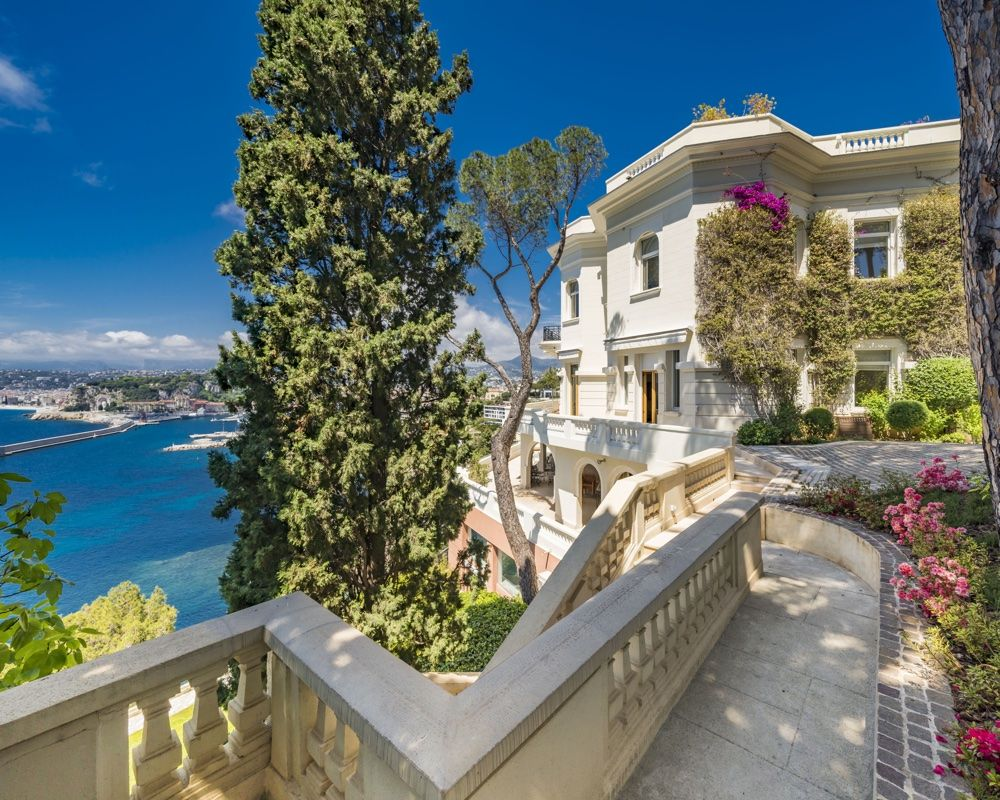 Sean Connery's majestic South of France villa goes on sale, and it featured in a James Bond film