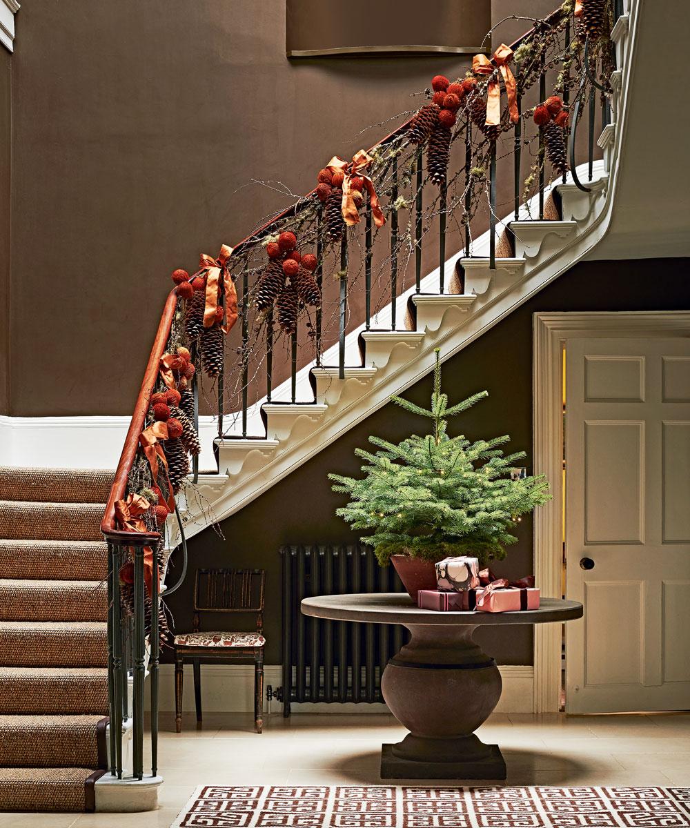 Christmas Hallway Ideas Christmas Hallway Decorations To
