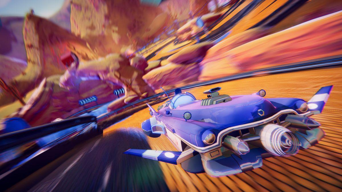 Trailblazers channels Splatoon into an energetic, clever sci-fi racer