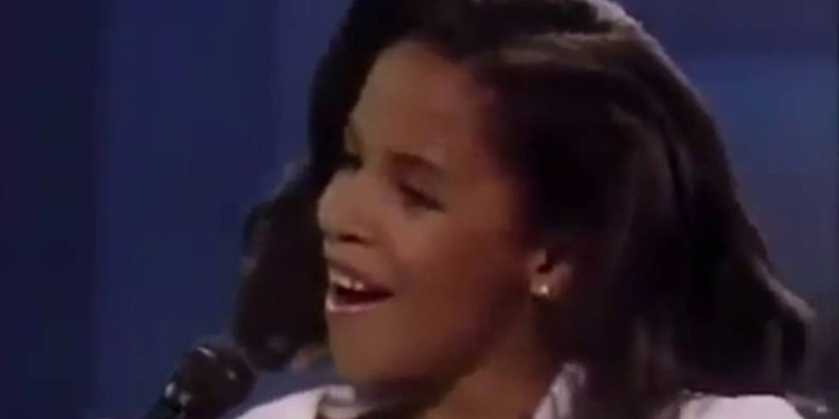 11-Year-old Aaliyah on Star Search