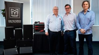 Focusrite Group's combined brands at NAMM 2020.