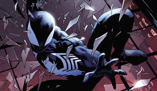 Spider-Man in black suit