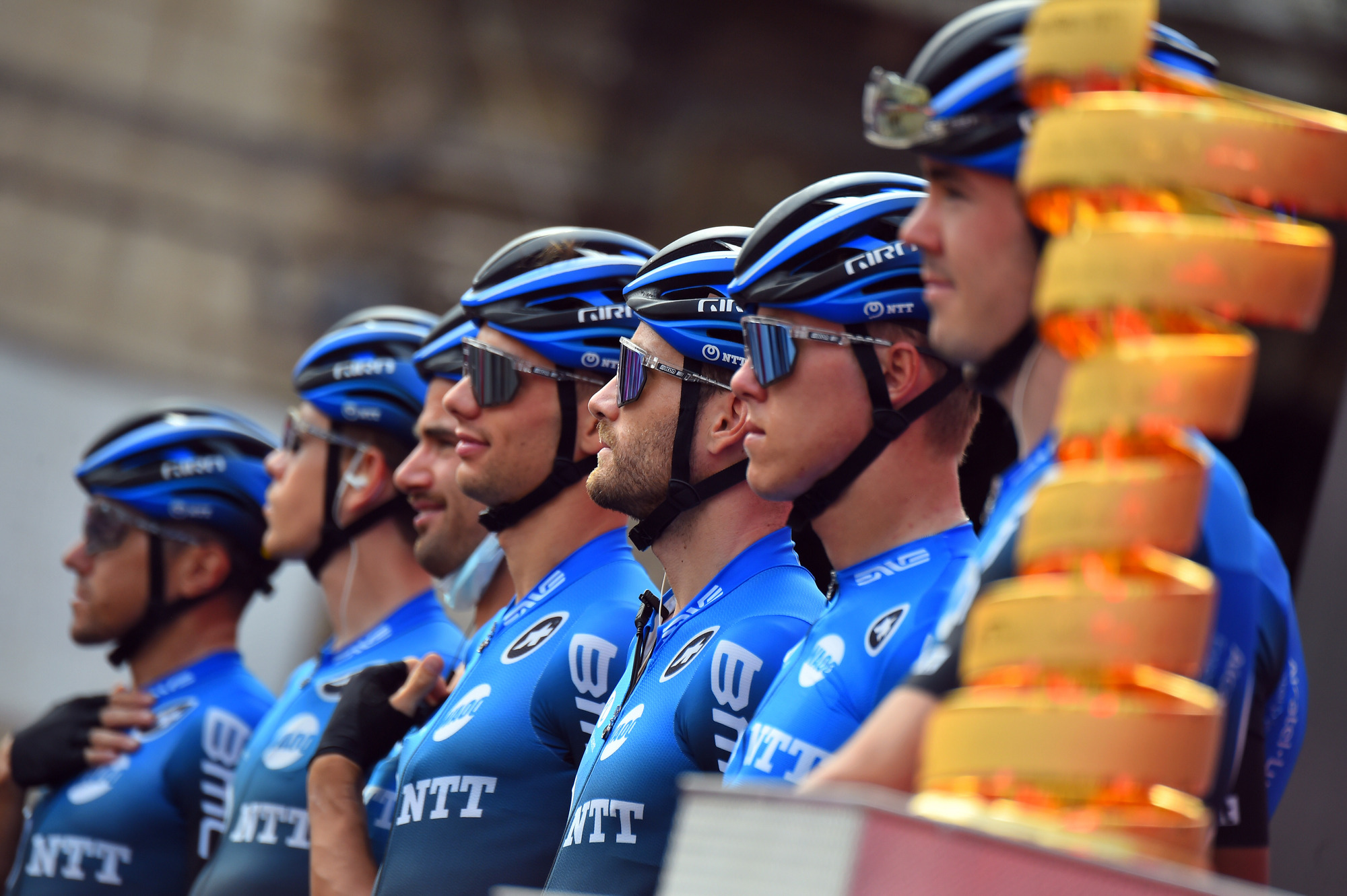 Giro d'Italia 2020 - 103th Edition - 4th stage Catania - Villafranca Tirrena 140km - 06/10/2020 - NTT Pro Cycling - photo Dario Belingheri/BettiniPhoto©2020
