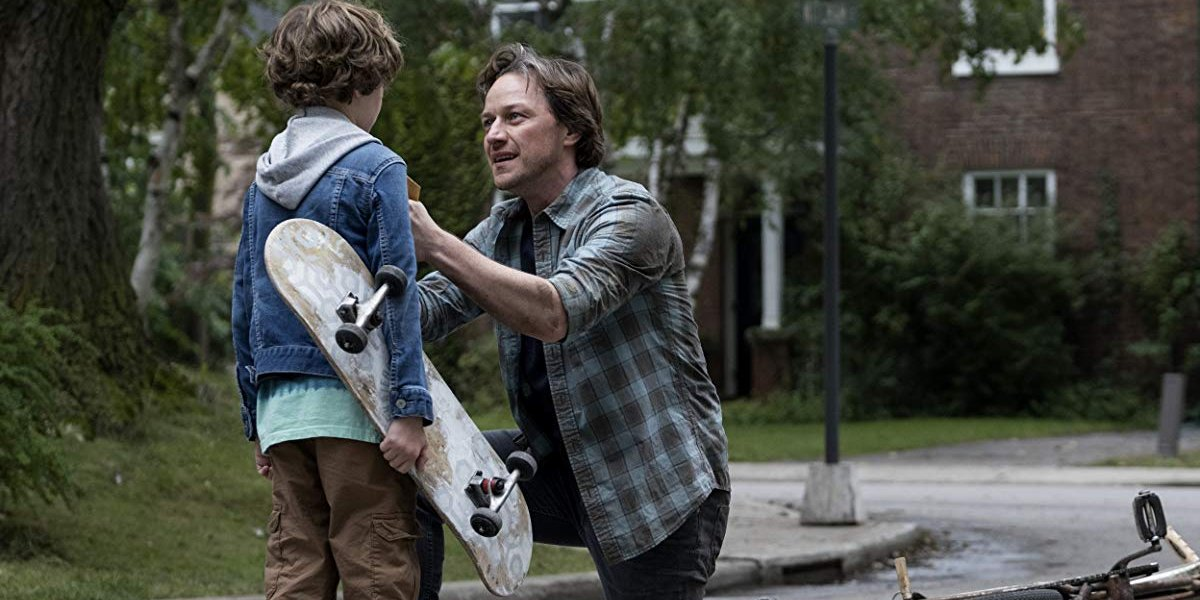 IT Chapter Two Bill tells Skateboard Kid to be safe in the streets