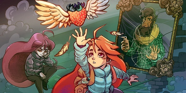 Madeline reaches for a strawberry in Celeste.