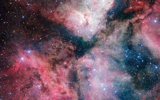 The Carina Nebula imaged by the VLT Survey Telescope 1920