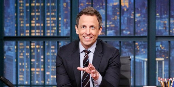 Seth Meyers hosting Late Night
