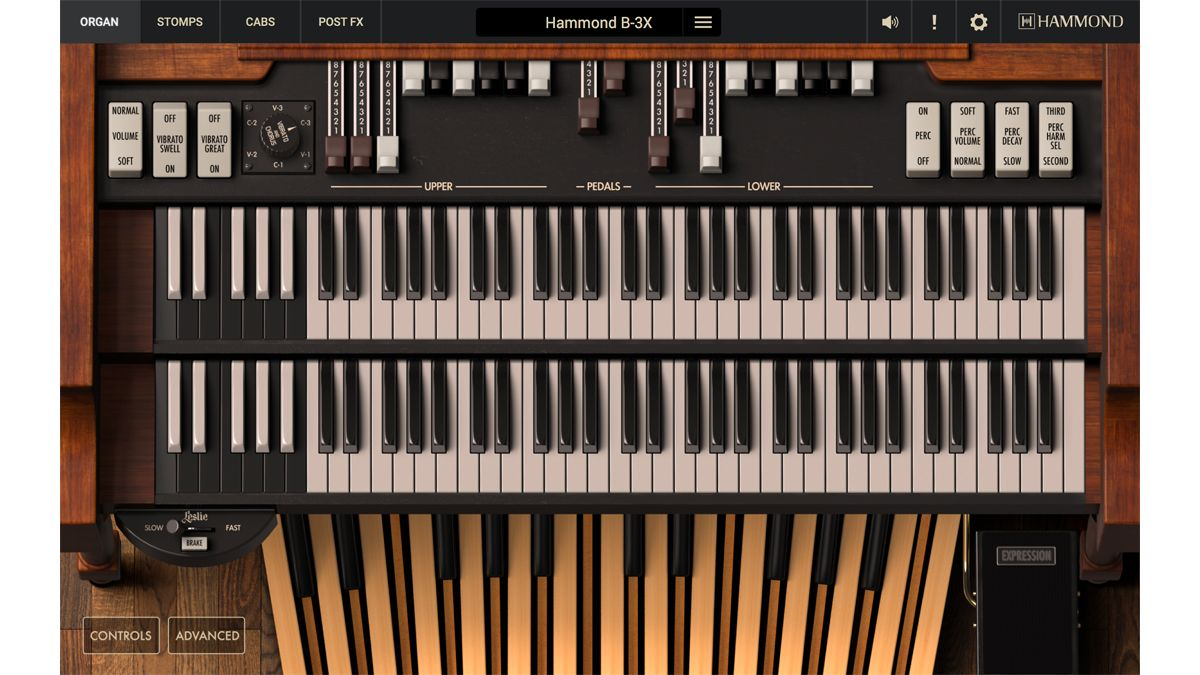 IK Multimedia's B-3X plugin is the first official emulation of the classic Hammond organ