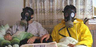 gas masks, safety