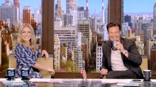 Kelly Ripa and Ryan Seacrest host Disney's 'Live with Kelly and Ryan'