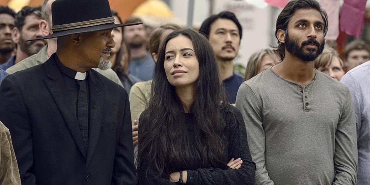 The Walking Dead Season 9 Father Gabriel Rosita Siddiq AMC