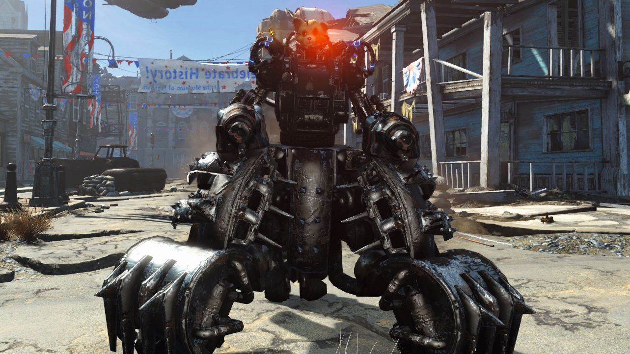 Marvelous Exploring Fallout 4S Dlc With My Own Personal Death Robot Gmtry Best Dining Table And Chair Ideas Images Gmtryco