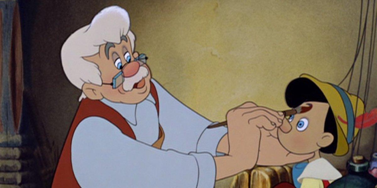 Gepetto in Pinocchio