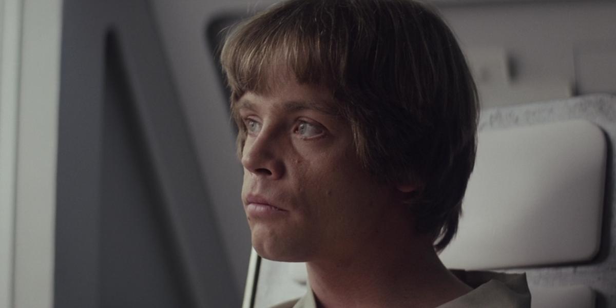 Luke in Empire Strikes Back